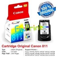 Cartridge Tinta Canon CL811 Color NEW Original IP2770 MP496 MP268