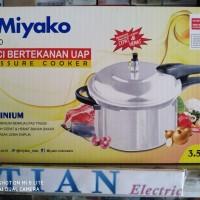 MIYAKO PC-350 Panci Bertekanan Uap / Panci presto 3.5 Liter