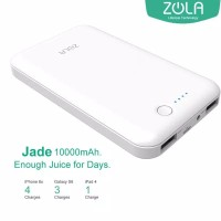 Powerbank ZOLA Jade Real 10000 mAh Smart and Fast Charging 2.1A