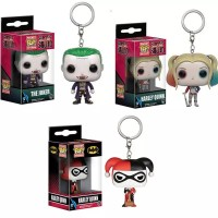 Funko Pop Key Chain Gantungan Kunci Harley Quin Joker