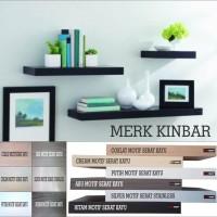 Grosir 60x20x4cm Rak Dinding/Ambalan/Melayang/Floating Shelf MERK KINB