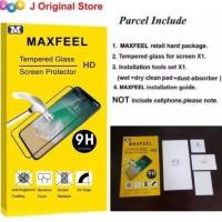 MAXFEEL TEMPERED GLASS FULL COVER ANTI GLARE MATTE IPHONE X IPHONEX