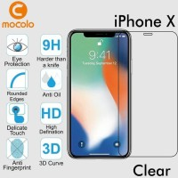 MOCOLO IPHONE X TEN 10 TEMPERED GLASS MOCOLO FULL CURVED 3D