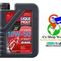 HARGA HEMAT Liqui Moly Motorbike 4T Synth 10W 50 Street Race made in