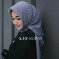 Promo Jilbab Segiempat Mutiara Hijab Kerudung Pearl Square Bella