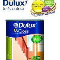 Cat Minyak Kayu dan Besi Dulux V Gloss (Warna Khusus)