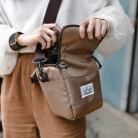 Tas Kamera Sling Bag Camera Mirrorless DSLR - ATVA Rana Khaki
