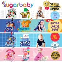 Bouncer Sugar Baby 10 in1 Premium Rocker