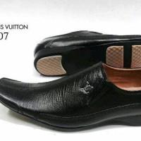 Sepatu Pantofel LV 4007 KulitAsli Sepatu Kerja Kantor Pantopel Pria