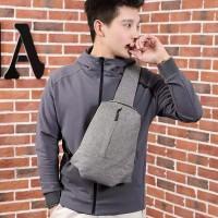 Tas Selempang Pria / Men Fashion Canvas Slingbag New Design | LM 6020
