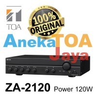 TOA ZA-2120 ORIGINAL AMPLIFIER MIXER POWER 120 WATT ASLI ZA2120