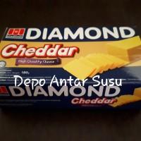 Keju Cheddar Diamond 180gram