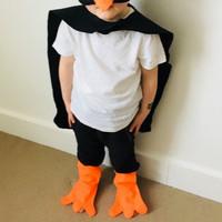 Kostum Pinguin Anak, Pakaian Pinguin Anak Drama Ulang Tahun Permainan