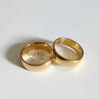 cincin titanium cincin couple single
