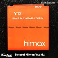 Baterai Himax M2 Y12 Original Batre Batrai Battery HP