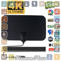 Kebidumei Antena TV Digital DVB-T2 4K High Gain 25dB - Black`1BU2ZZ-