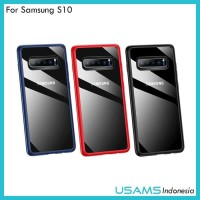 Softcase Case Usams Mant Series Softjacket Samsung Galaxy S10 S10+