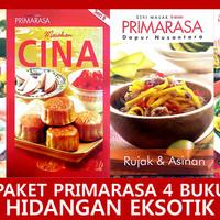 Paket Primarasa 4 Buku Hidangan Eksotik