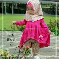 Farah Legging Set - Baju Muslim Balita - Blouse Balita Lucu 3-4thn