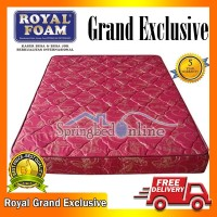 Kasur Busa Royal Foam Grand Exclusive 160 x 200 Tebal 18 Cm Grs 5 Thn