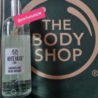 parfume the body shop White musk leau body mist 100ml (new)