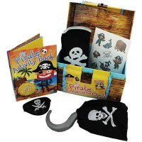 MY PIRATE TREASURE CHEST-SUPER SECRET MONEY BOX WITH ACTIVITY BOOK ETC