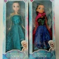 Boneka Barbie Frozen Anna/Elsa
