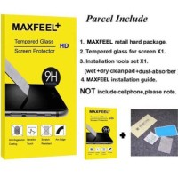 MAXFEEL BACK TEMPERED GLASS IPHONE X TERMURAH