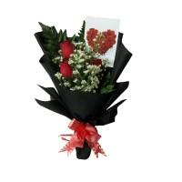 bouquet bunga mawar asli | bucket bunga | buket | fresh flower