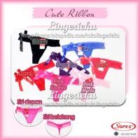 Celana Dalam Wanita Transparan Seksi CD G String Sorex 828