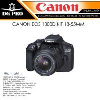 CANON EOS 1300D KIT 18-55MM IS II - KAMERA DSLR CANON + LENSA 18-55MM