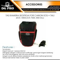 TAS KAMERA SEGITIGA FOR CANON EOS + TALI (EOS 1300D,EOS 750D, 80D DLL)