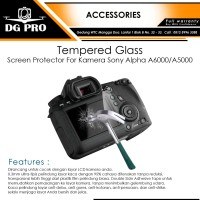Tempered Glass - Screen Protector For Kamera Sony Alpha A6000/A5000