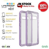 LifeProof Galaxy S10 Plus Case S10+ Next - Ultra (Clear/Violet)