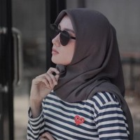 hijab colection Kacamata transparan frameless