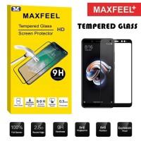 Xiaomi Redmi Note 5 Pro MAXFEEL Full Cover Tempered Glass Premium