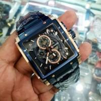 JAM TANGAN PRIA EXPEDITION E6731 ROSEGOLD BLUE ORIGINAL