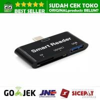High Speed USB Type C Multi Card Reader Adapter USB 3.0 MICR SD TF OTG