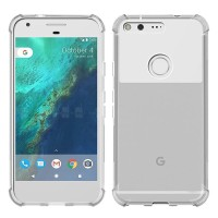 For Google Pixel 1 2 3 XL Air Cushion Case Clear Crystal Soft Silicone
