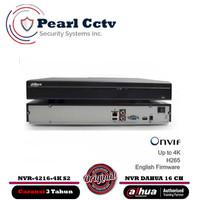 NVR CCTV DAHUA 16 CHANNEL NVR4216-4KS2 NON POE GARANSI 3 TAHUN