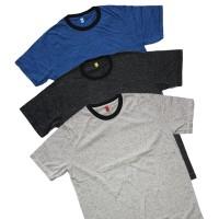 Kaos Polos Pria Katun COMBED 30s Baju Polos Tshirt Cotton Good Quality