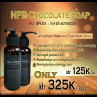 Chocolate Soap NCS NATURA sabun coklat facial wash dam body wash