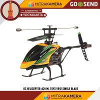 RC Helicopter 4 channel WL Toys V912 Single Blade