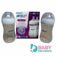 PHILIPS AVENT Botol Natural 260 ML isi 2 POPULER