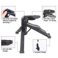 Portable Mini Folding 2 in 1 Hand Monopod Stand Tripod DSLR Camera