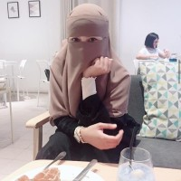 cadar bandana tali /niqab bandana tali