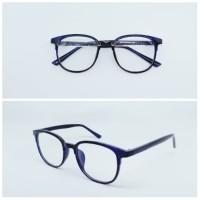 Frame Kacamata Minus Pria WALLY   Lensa Antiradiasi