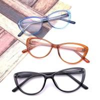 Frame Kacamata Minus Wanita SIMPLY CATS   Lensa Antiradiasi