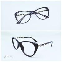 Frame Kacamata Minus Wanita CAT GOLDCHAIN   Lensa Antiradiasi
