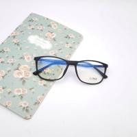 Frame Kacamata Minus Wanita LINE Casual   Lensa Antiradiasi